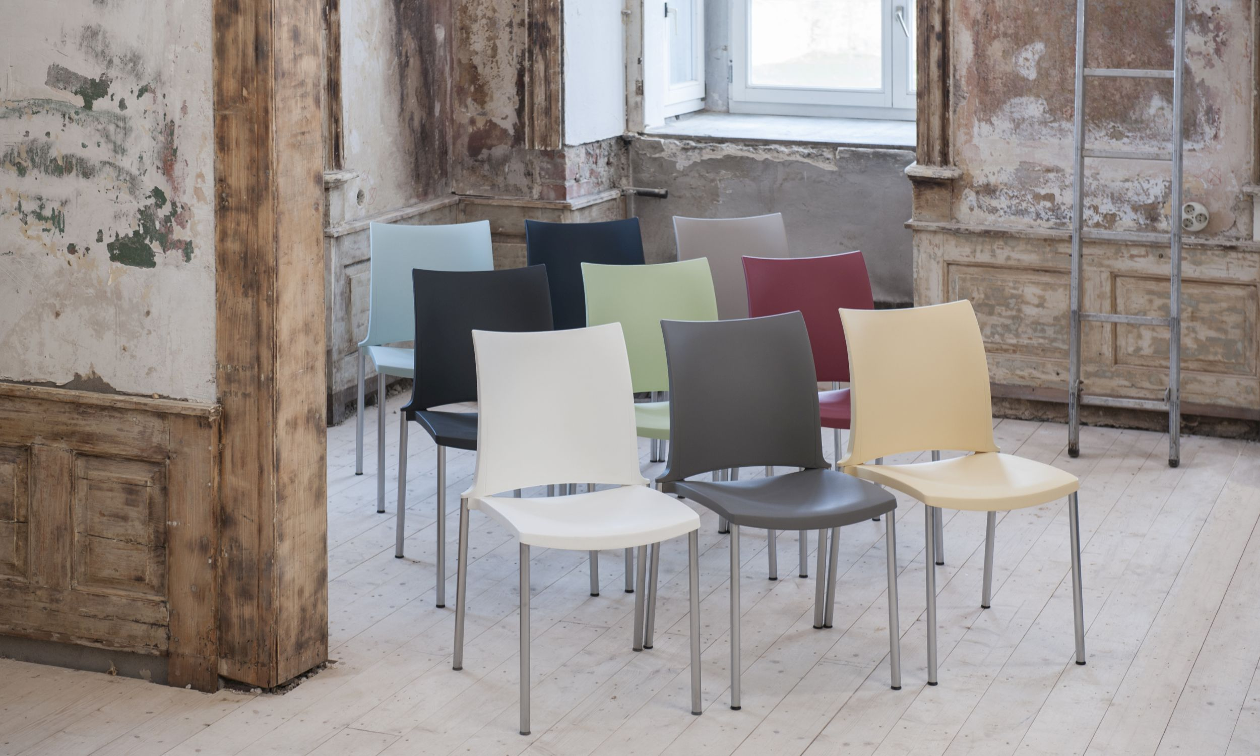 Kusch+Co chairs at Stockholm Furniture Fair