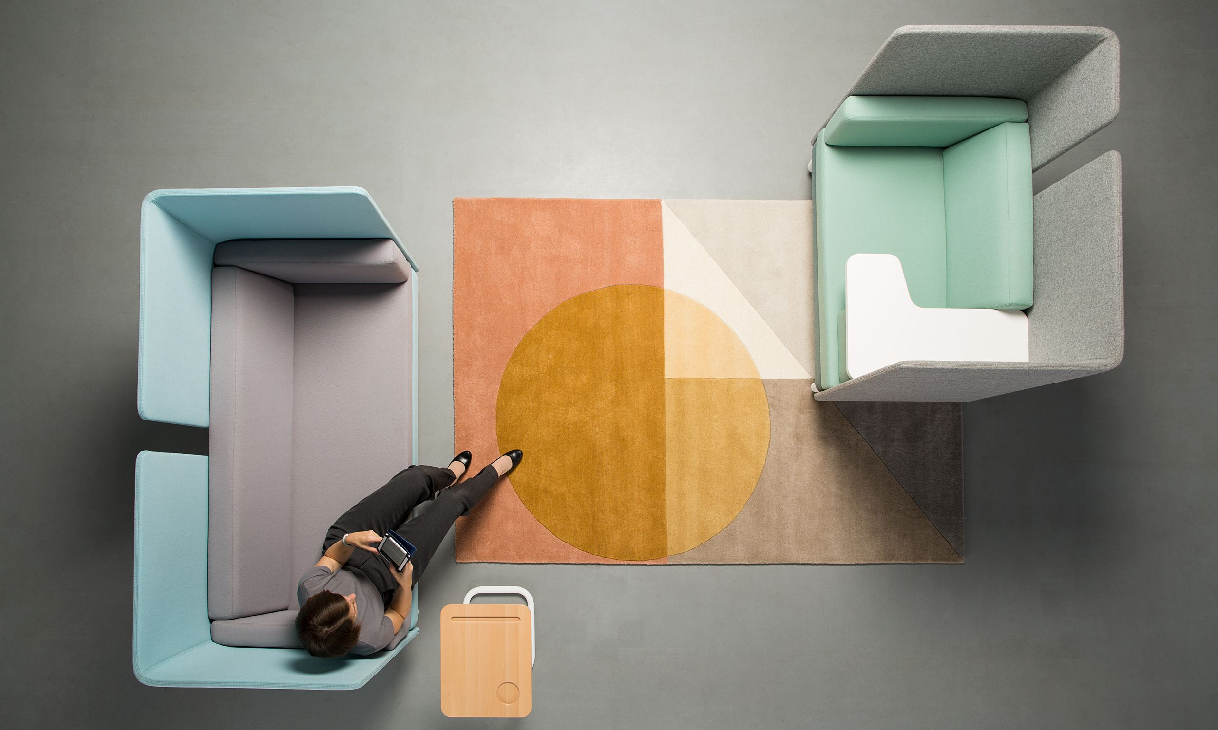 Nowy Styl Group at Stockholm Furniture Fair: Play&Work sofas